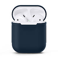 Чехол Upex для наушников Apple AirPods Blue (IGAPUSCMB3)