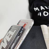 Чехол Case Title Marvel White Transparent / Чехол Марвел Белый для Apple IPhone X, фото 3