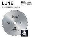 Пила дисковая freud по дереву для продольного пиления на циркулярку Пила дисковая LU1E 0100 250b2.5d30z24