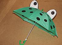 Детский зонтик с ушками и глазками