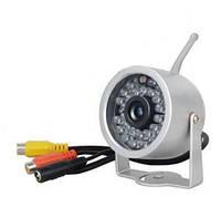 Аналоговая беспроводная влагозащитная видеокамера 2.4 Ghz с 30 ИК светодиодами (модель WN-15)