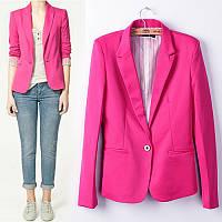 Розовый пиджак женский 11430,