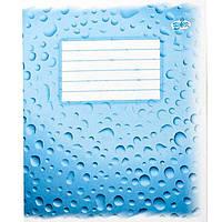 Тетрадь 12 листов линия Бриск