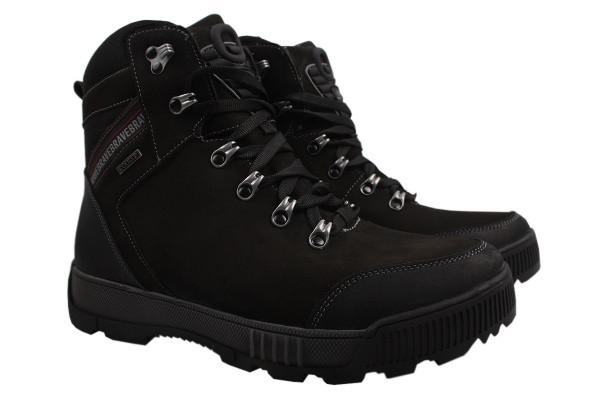 Ботинки Brave нубук, цвет черный