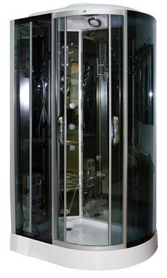 Гидромассажный бокс (гидробокс) Caribe X064L (левый), 1200x800x2150 мм