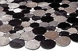 Довговічні зносостійкі килими, килими під замовлення з шкіри в Києві, фото 2
