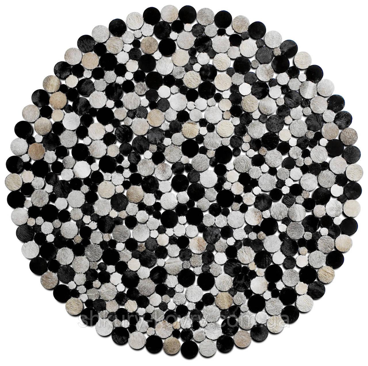 Довговічні зносостійкі килими, килими під замовлення з шкіри в Києві