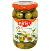 Оливки Baresa зеленые бареса 290г
