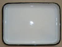 Лоток прямоугольный эмалированный  150 х 200 х 15 мм  ЛУЭ-150