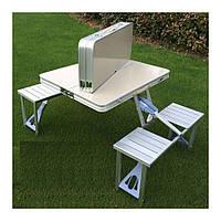 Туристический складной раскладной стол трансформер для пикника и активного отдыха туристичний стіл складний