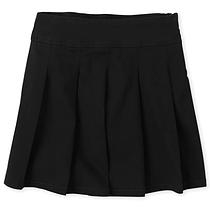 Школьная юбка черная на полную девочку 12-14 лет Plus fit The Children's Place (США)