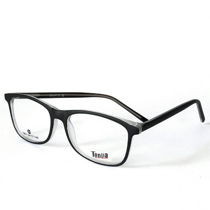 Очки для зрения, унисекс, в пластиковой оправе под заказ по любому рецепту, Tonjia