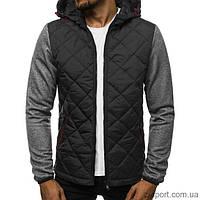 Куртка осенняя мужская J.Style KS1892 темно-серая XXL