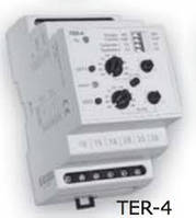 Контролирует и регулирует температуру в диапазоне -40до +110 TER-4/230V