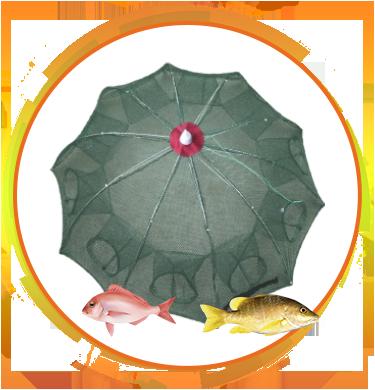Верша-паук для ловли рыбы