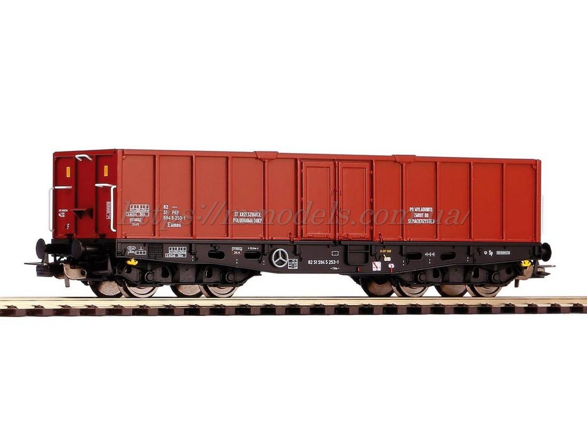 Piko 58416 полувагон 4х осная принадлежности PKP ( High side Gondola 401Zk Eamos PKP Cargo V ) /  1/87