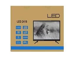 Led телевизор 2418, встроенный Т2, 24, фото 3