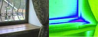 Пластиковые окна и  двери – проверка Тепловизором