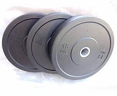 Резиновые диски/блины для кроссфита (Bumper plates) 10, 15, 20 кг