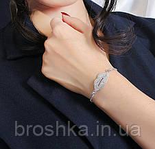 Слейв браслет белые губки ювелирная бижутерия, фото 2