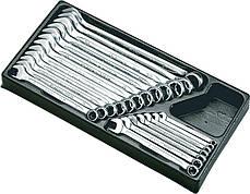 Набор ключей комбинированных HANS TT-29 19 шт