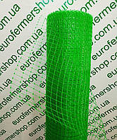 Сетка ограждение для птиц, ячейка 12х14 мм, рул.1х50 м (черная,зеленая).