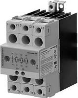 Полупроводниковое (твердотельное) реле + радиатор (3х28 А, Vpаб 24...660 AC , Vупр  5...32 DC)