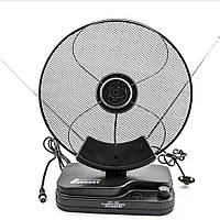 Антенна DVB-T2 Комнатная Eurosky ES-001 (МВ/ДМВ/FM) всеволновая с усилителем