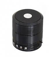 Портативная bluetooth колонка MP3 плеер WS-887 Black реплика