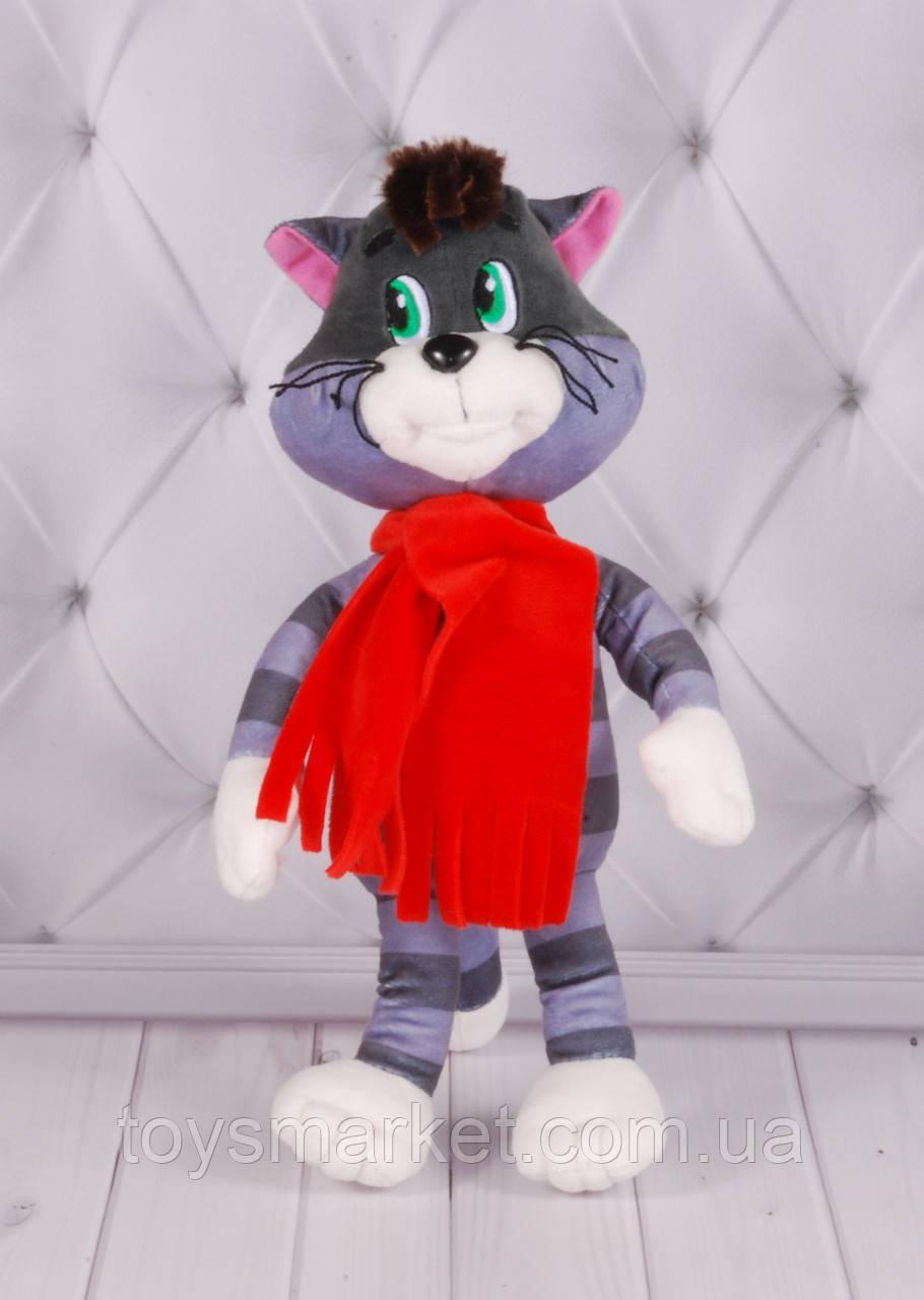 Мягкая игрушка Кот Матроскин, «Трое из Простоквашино», плюшевый кот
