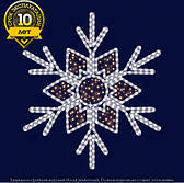 Снежинка светодиодная SL013