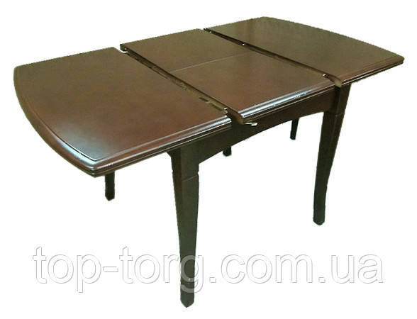 Стол А-13 шоколад раскладной, кухонный, гостиный, прямоугольный