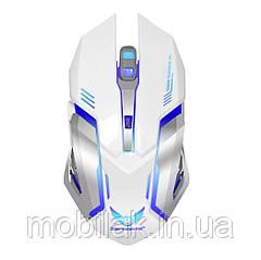 Беспроводная компьютерная мышь Eshowee White