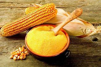 Борошно (мука) жорнового помелу кукурудзяна цільнозернова (пакет 2 кг.)