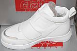 Ботинки белые женские зимние от производителя модель РУ171М-2, фото 4