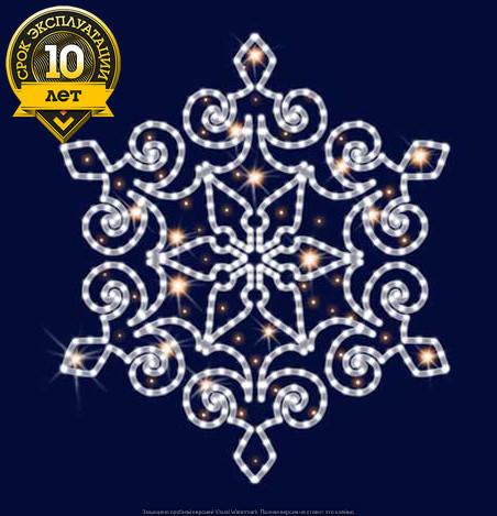 Снежинка светодиодная SL038, фото 2