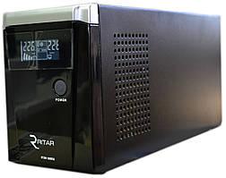 Источник бесперебойного питания Ritar RTSW-500 LCD, с правильной синусоидой