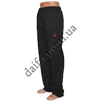 Мужские спортивные штаны Норма черные BP377-1с Турецкий трикотаж, пошив-Украина. Оптом в Одессе.