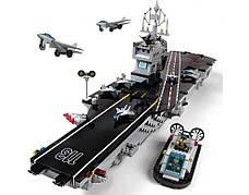 Конструктор брик BRICK 113 Военный корабль 990 деталей, фото 3
