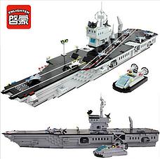 Конструктор брик BRICK 113 Военный корабль 990 деталей, фото 2