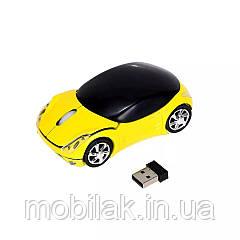 Беспроводная компьютерная мышь HIPERDEAL Yellow