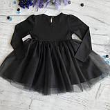 Пышное детское платье на девочку Breeze 123. Размер 104 см, 110 см, 116 с (6лет), 128 см (8лет), фото 3