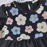 Пышное детское платье на девочку Breeze 123. Размер 104 см, 110 см, 116 с (6лет), 128 см (8лет), фото 2