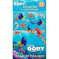 Альбом с наклейками Видавництво Ранок Рыбка Дори 13176014Р