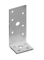 Уголок монтажный 120х40х40х2.5 мм разнополочный оцинкованный