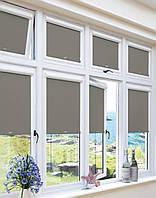 Тканевые ролеты закрытого типа на окна ПВХ