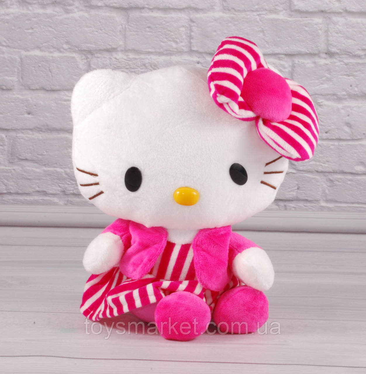 "Мягкая игрушка Китти, Хелло Китти, ""Hello Kitty"", плюшевый кот"