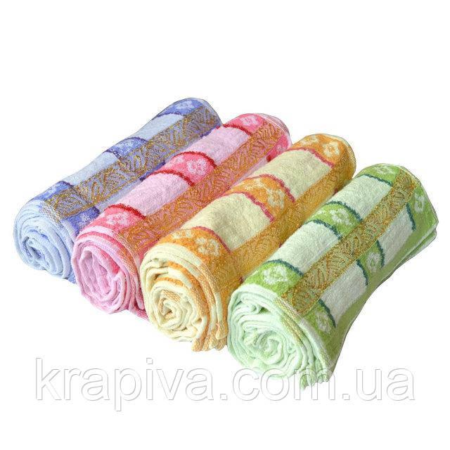 Полотенце кухонное махра 50*25 см микрофибра , рушник кухонний махра для рук, кухні