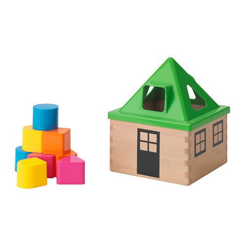 МУЛА Головоломка, разноцветная, 10294889, IKEA, ИКЕА, MULA
