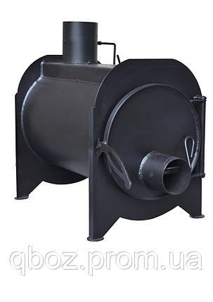Буржуйка стальная с зольником KOZAK, фото 2